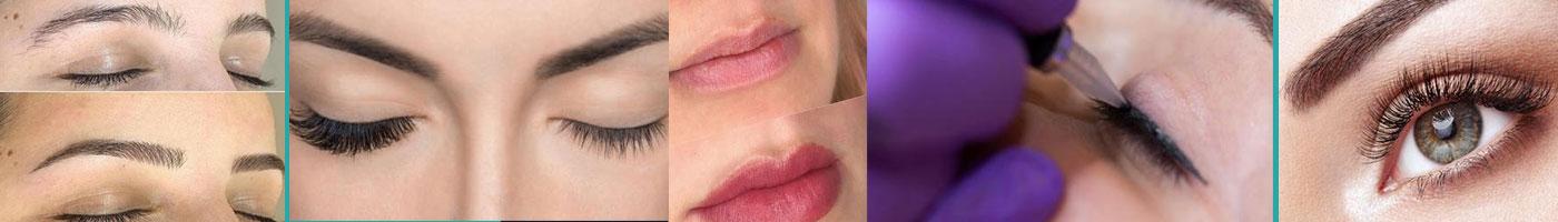 Microblading, Eyelash Extentions, Lip Tatoos, Eyeliner Tatoos